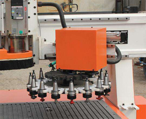 What auto tool change methods are used in cnc router machine?